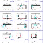 Ofisinių konteinerių išmatavimai